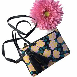 Melie Bianco Farrah Mini Crossbody Flower Print
